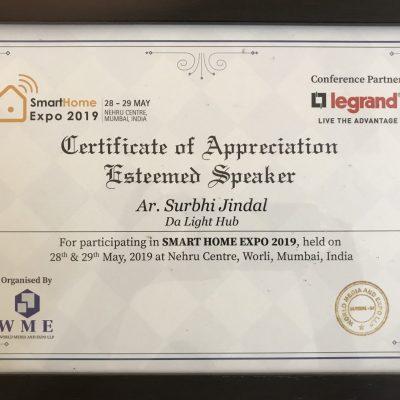 Appreciation by World Media Expo