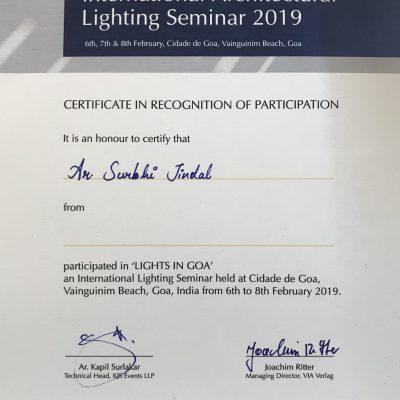 Appreciation by KJS & Light In Goa