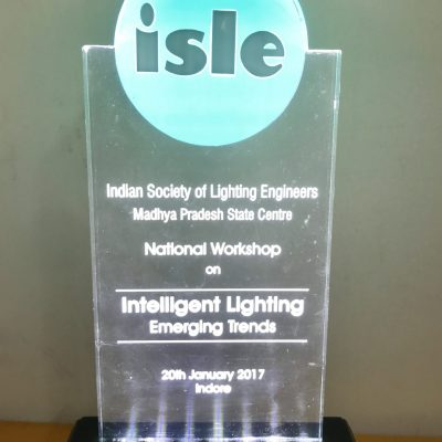 Award by Indian Society of Lighting Engineers
