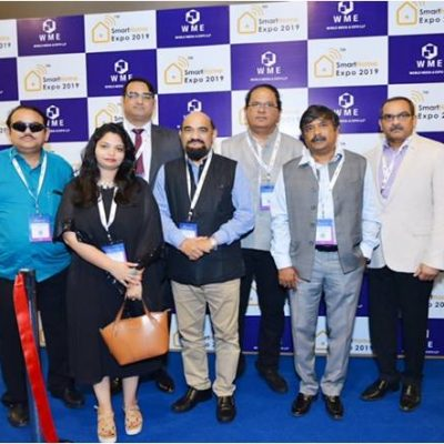 Ar. Surbhi with the Chief Guest & Other Guest of Honours at Smart Home Expo